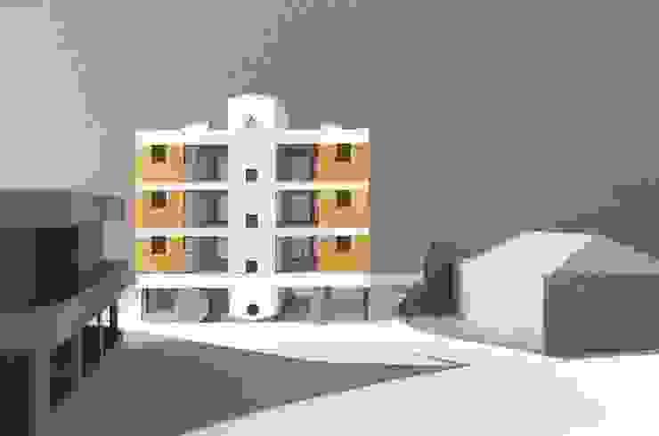 사이트 모형: 에이오에이 아키텍츠 건축사사무소 (aoa architects)의 현대 ,모던