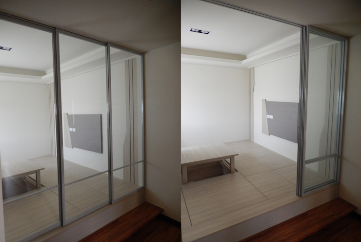 Ruang Studi/Kantor Gaya Eklektik Oleh 木博士團隊/動念室內設計制作 Eklektik