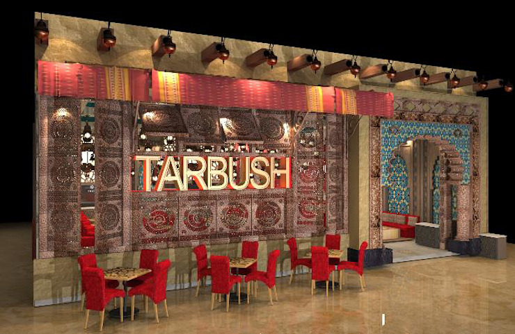 Provide conceptual design for Client on New F&B set up Rustic style dining room by Atmosphere Axis Sdn Bhd Rustic