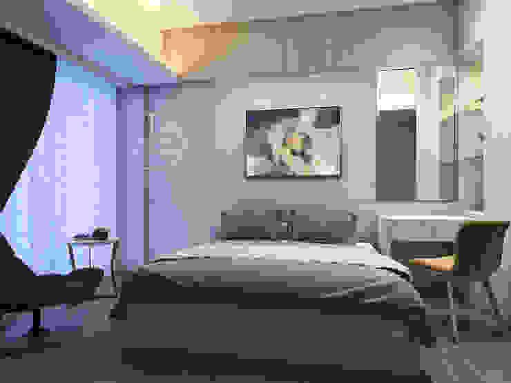 臥室/歐式系統傢俱/化粧檯/奢華風 根據 木博士團隊/動念室內設計制作 現代風
