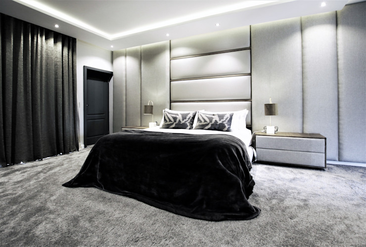 VCC Estate Minimalist bedroom by JSD Interiors Minimalist Wood Wood effect