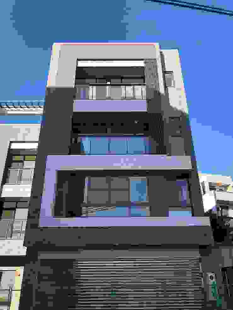 現代風的住商設計 根據 讚基營造有限公司 現代風 磚塊