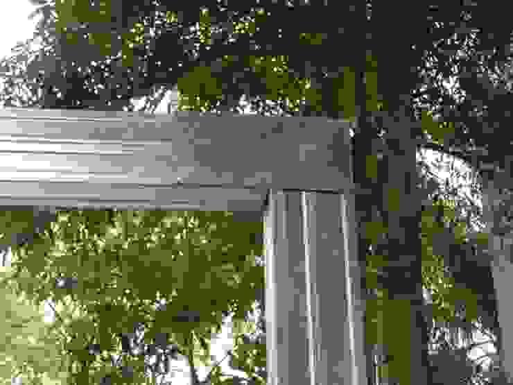 鋼製結構比木頭更加穩固 根據 安居住宅有限公司 日式風、東方風 鐵/鋼