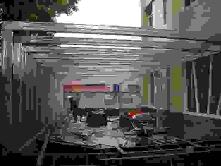 鋼製結構比木頭更加穩固 根據 安居住宅有限公司 日式風、東方風