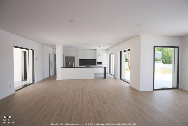 Kitchen by OGGOstudioarchitects, unipessoal lda, Minimalist