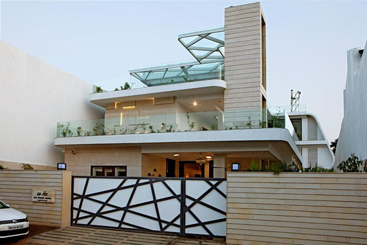 Home Exterior design Ideas Modern houses by Innerspace Modern