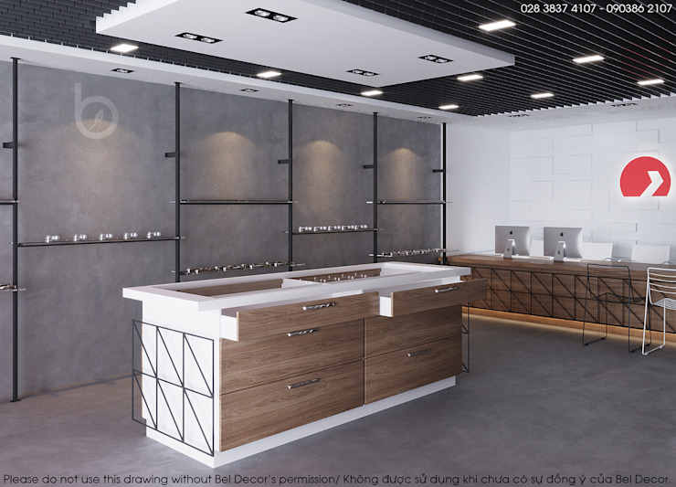 Thiết Kế Nội Thất Showroom (Sh1801) bởi Bel Decor
