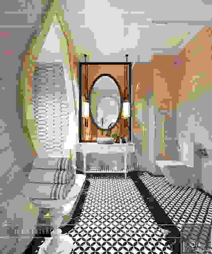 Thiết kế biệt thự theo phong cách Đông Dương – Vẻ đẹp giá trị thời gian Phòng tắm phong cách châu Á bởi ICON INTERIOR Châu Á