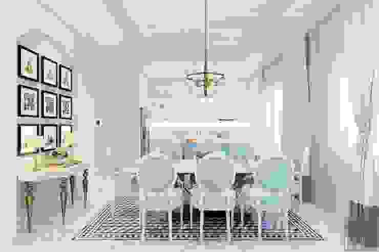 Thiết kế biệt thự theo phong cách Đông Dương – Vẻ đẹp giá trị thời gian Phòng ăn phong cách châu Á bởi ICON INTERIOR Châu Á