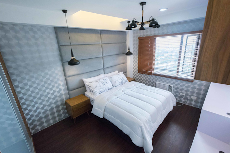 One Orchard Road Modern style bedroom by TG Designing Corner Modern