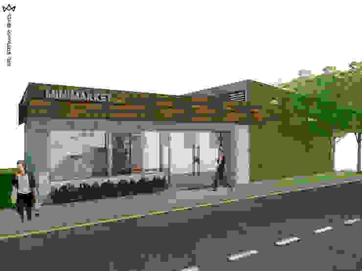 MINIMARKET LOS NARANJOS Arq Stephanny Reyes Tiendas y espacios comerciales