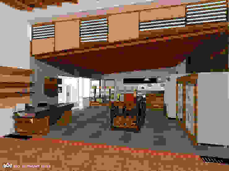 ÁREA DE ACCESO. SECTOR FRÍO- EXPRESS Arq Stephanny Reyes Tiendas y espacios comerciales