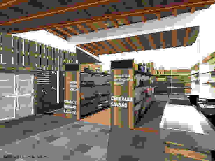 ANAQUELES Arq Stephanny Reyes Tiendas y espacios comerciales