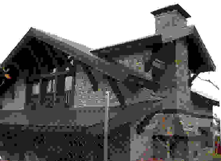 Manuel Monroy Pagnon, arquitecto Country house Stone Grey