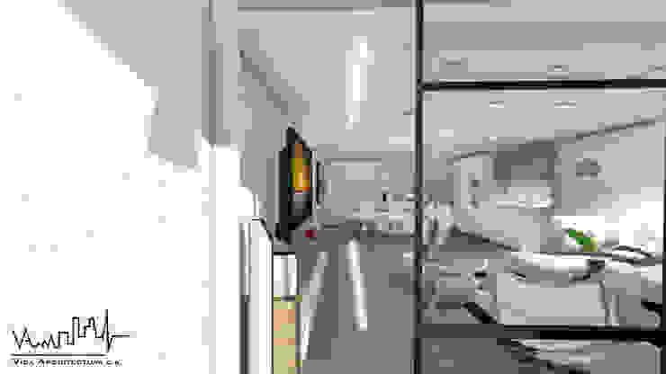 Remodelacion y diseño interior para apartamento Vida Arquitectura Balcones y terrazas de estilo moderno