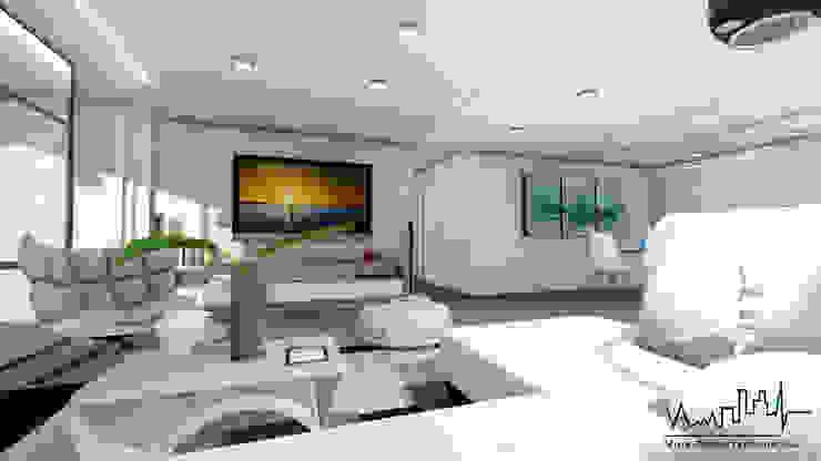 Remodelacion y diseño interior para apartamento Vida Arquitectura Salas/RecibidoresSofás y sillones
