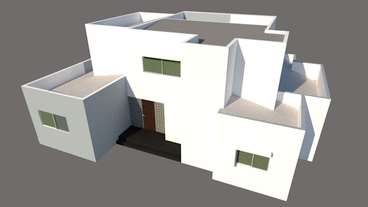 ARQUITECTO de Hector Arquitecto Ecléctico Compuestos de madera y plástico