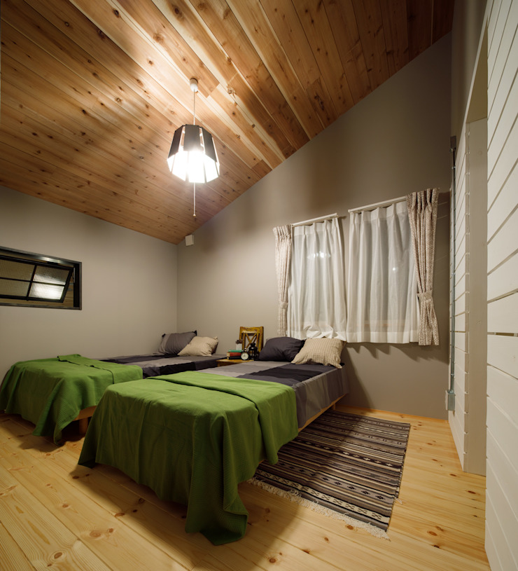 Eclectic style bedroom by dwarf Eclectic