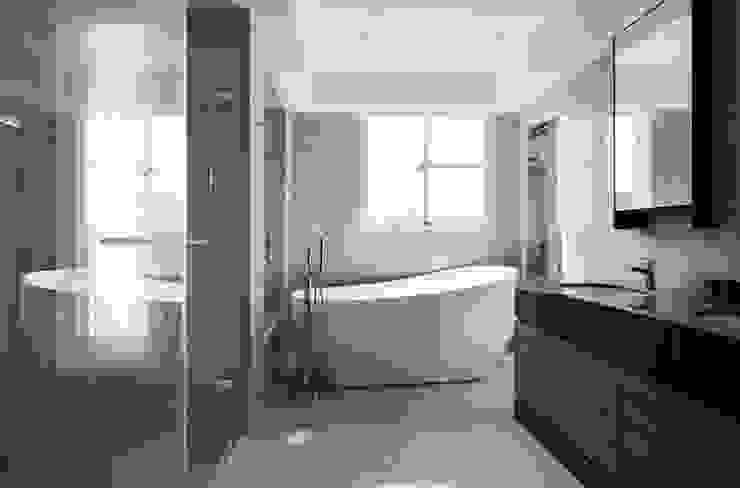 蛋型浴缸 根據 湘頡設計 簡約風