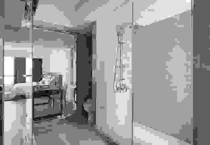 主衛以四件式衛浴為題 根據 湘頡設計 簡約風