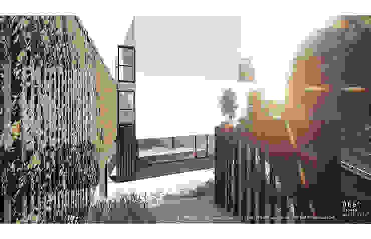 3D view モダンな 家 の OGGOstudioarchitects, unipessoal lda モダン