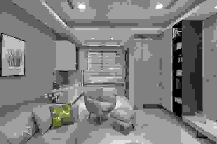 臥榻 斯堪的納維亞風格的走廊,走廊和樓梯 根據 禾廊室內設計 北歐風