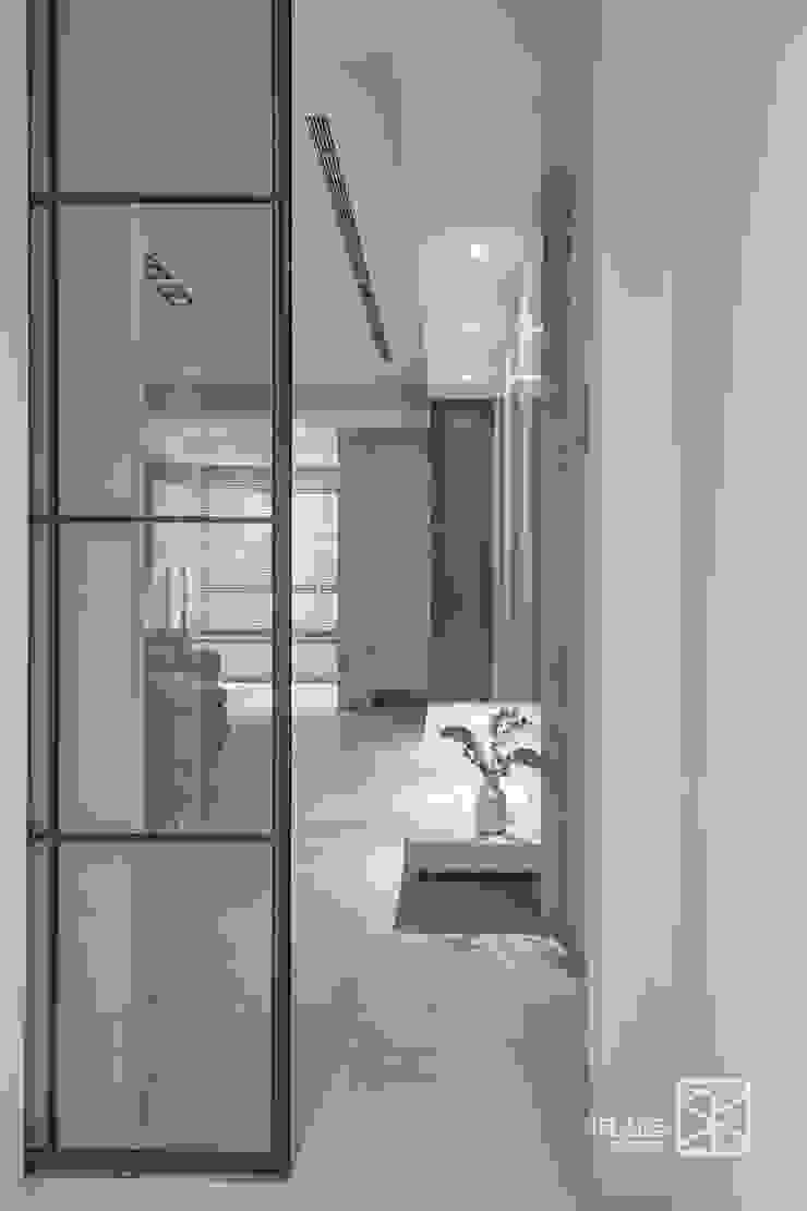 台中 - 大肚 斯堪的納維亞風格的走廊,走廊和樓梯 根據 禾廊室內設計 北歐風