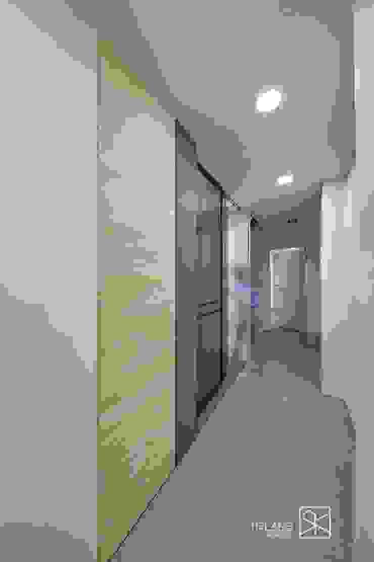 書房 斯堪的納維亞風格的走廊,走廊和樓梯 根據 禾廊室內設計 北歐風
