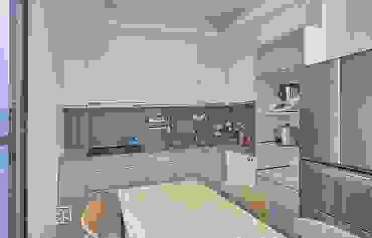 簡約實用廚房 現代廚房設計點子、靈感&圖片 根據 禾廊室內設計 現代風