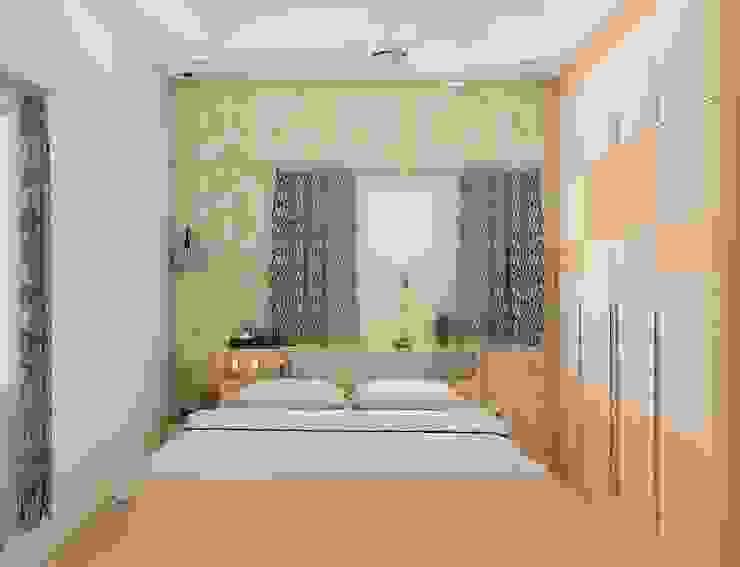 Bedroom Colour schemes Modern Bedroom by Modulart Modern