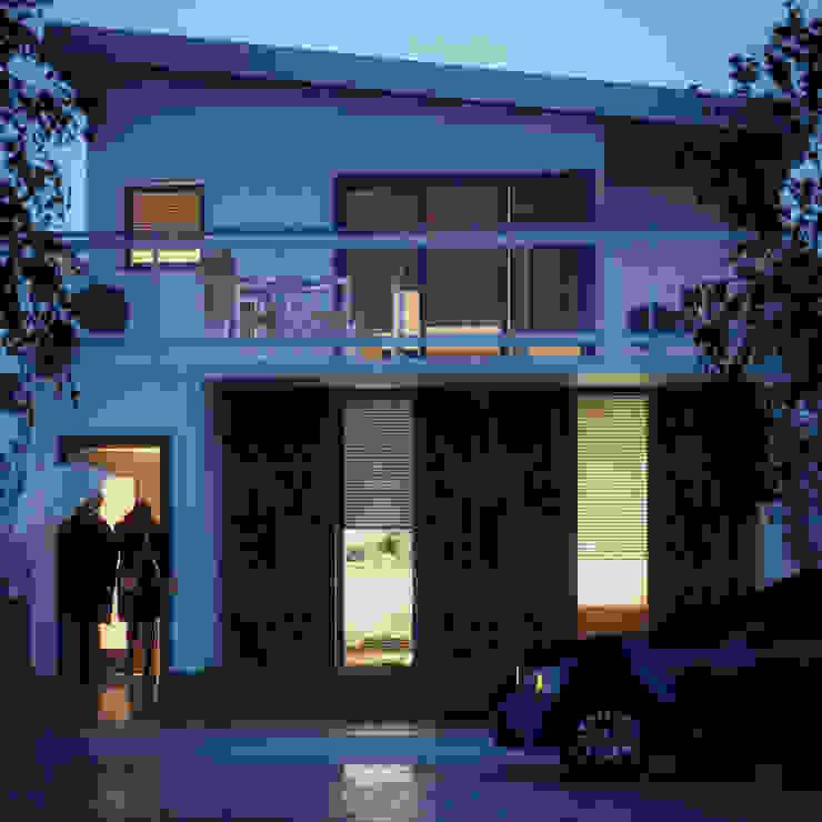 Rainy Evening by Zero Point Visuals Modern Bricks