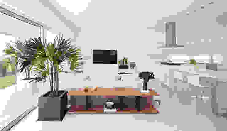 Ruang Media Minimalis Oleh GLR Arquitectos Minimalis
