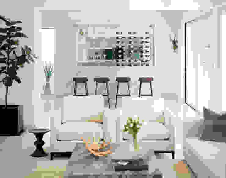 Ruang Keluarga Minimalis Oleh GLR Arquitectos Minimalis