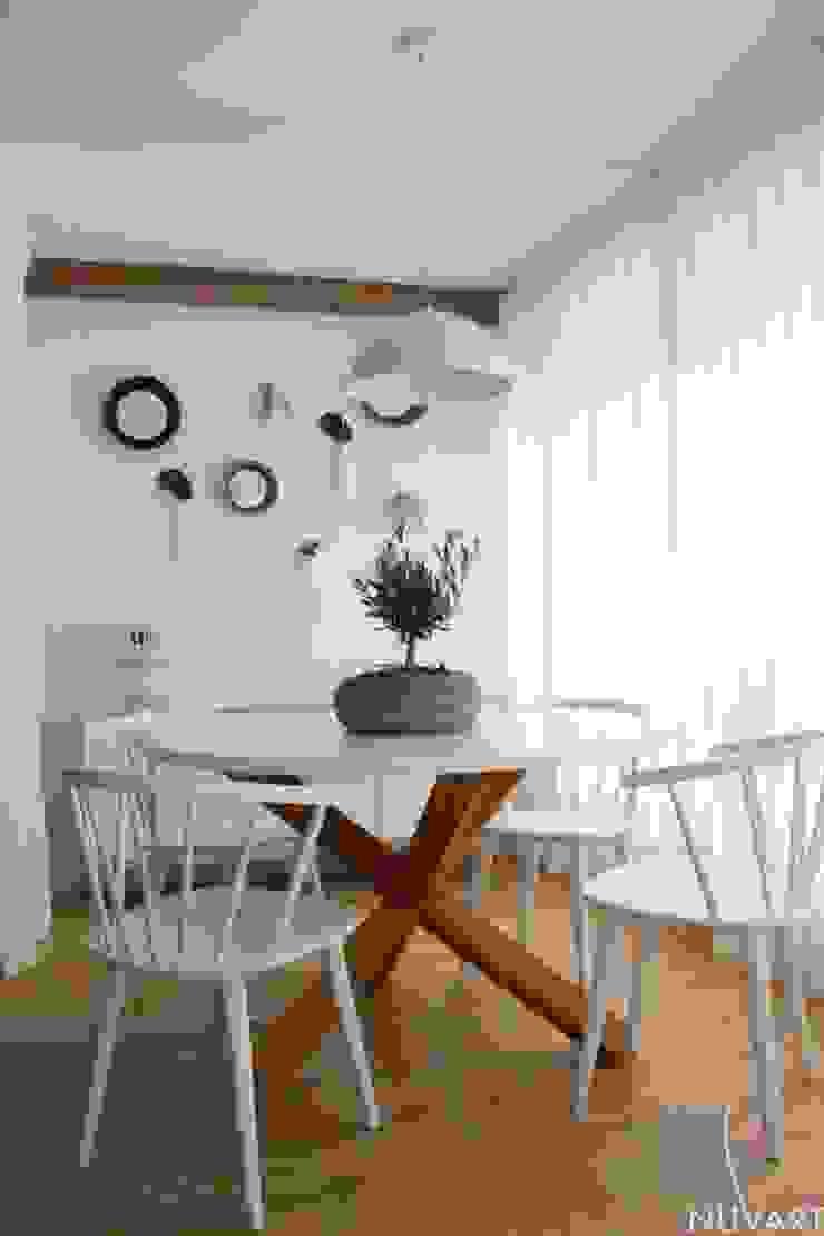 NUVART Mediterranean style dining room