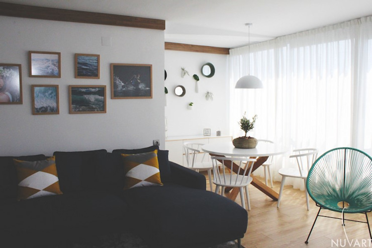 Mediterranean style living room by NUVART Mediterranean