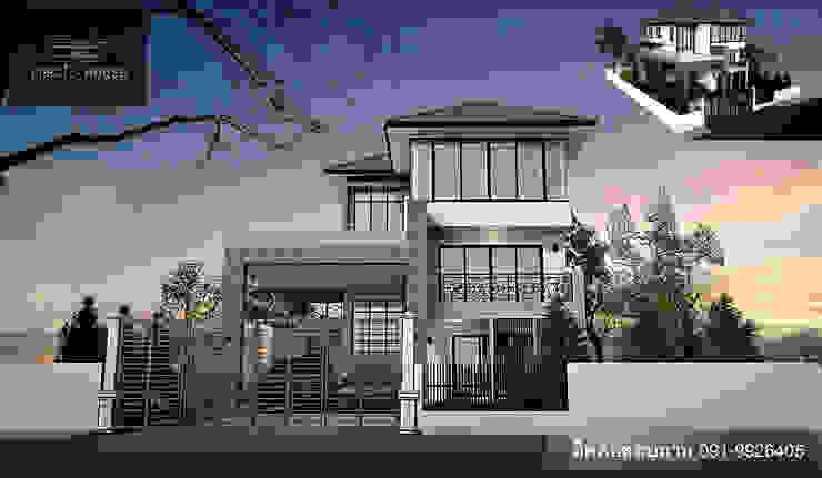 บ้าน 3 ชั้น โมเดิร์นกับเหล็กดัดอิตาลี โดย PRECIO HOUSE