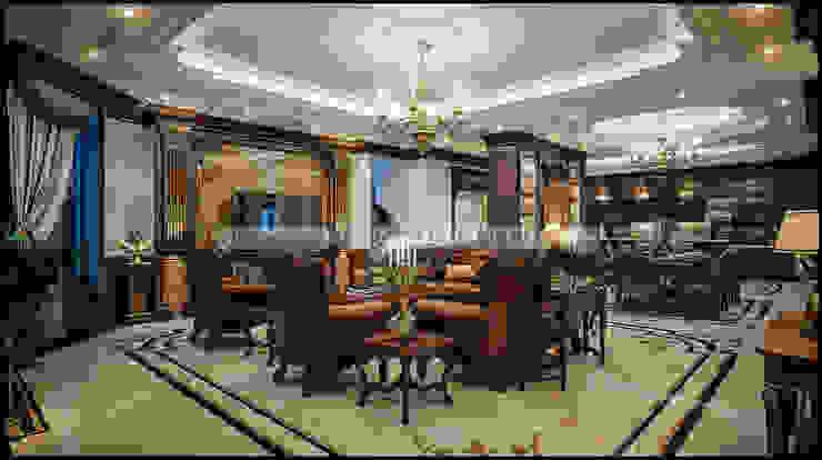 Phòng khách: cổ điển  by A&More Architecture, Kinh điển