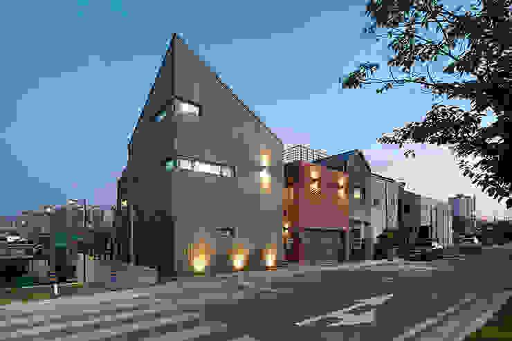 Publivate House 외관 모던스타일 주택 by 건축사사무소 카안 |Architect firm KAAN 모던