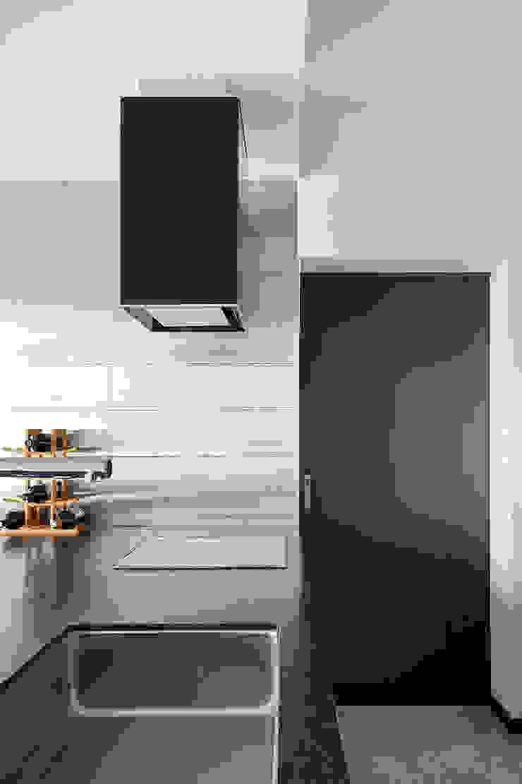 주방 및 다용도실 모던스타일 주방 by 건축사사무소 카안 |Architect firm KAAN 모던