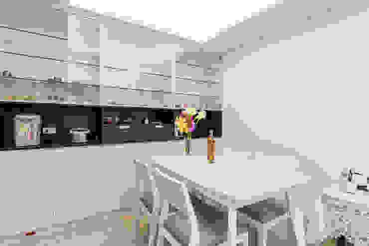 黑加白的多功能宅 根據 好室佳室內設計