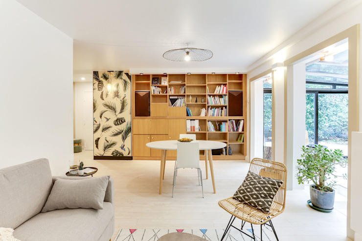 Renovation Appartement Paris 14e par Unlimited Design Lab
