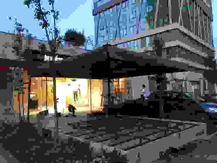 Akaydın şemsiye Halaman depan Aluminium/Seng Grey