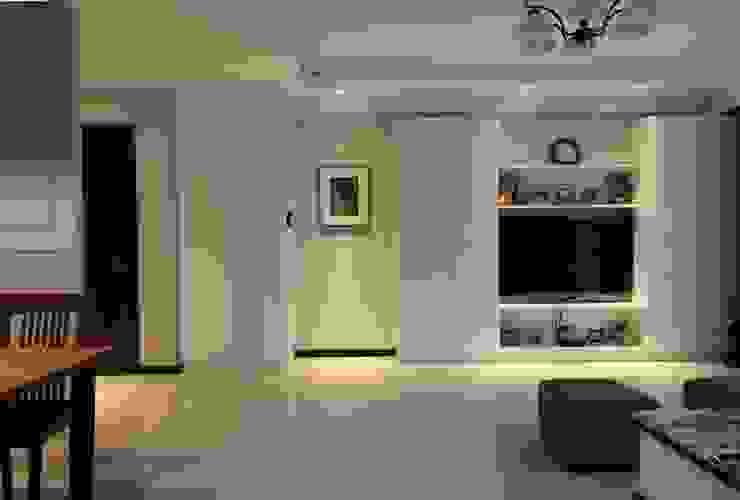 客廳 根據 果仁室內裝修設計有限公司 古典風