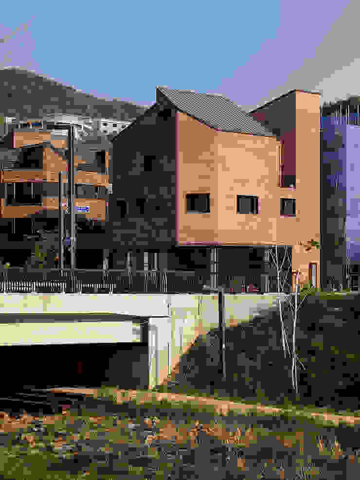 동탄신도시 다가구주택 by 삼공사건축사사무소 모던 벽돌