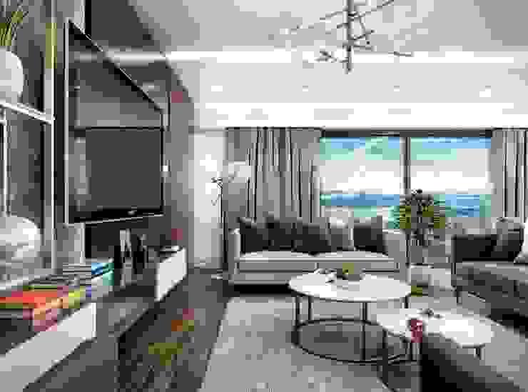 Salon moderne par VERO CONCEPT MİMARLIK Moderne