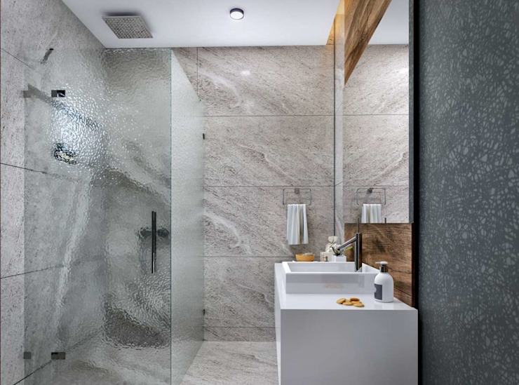 Salle de bain moderne par VERO CONCEPT MİMARLIK Moderne