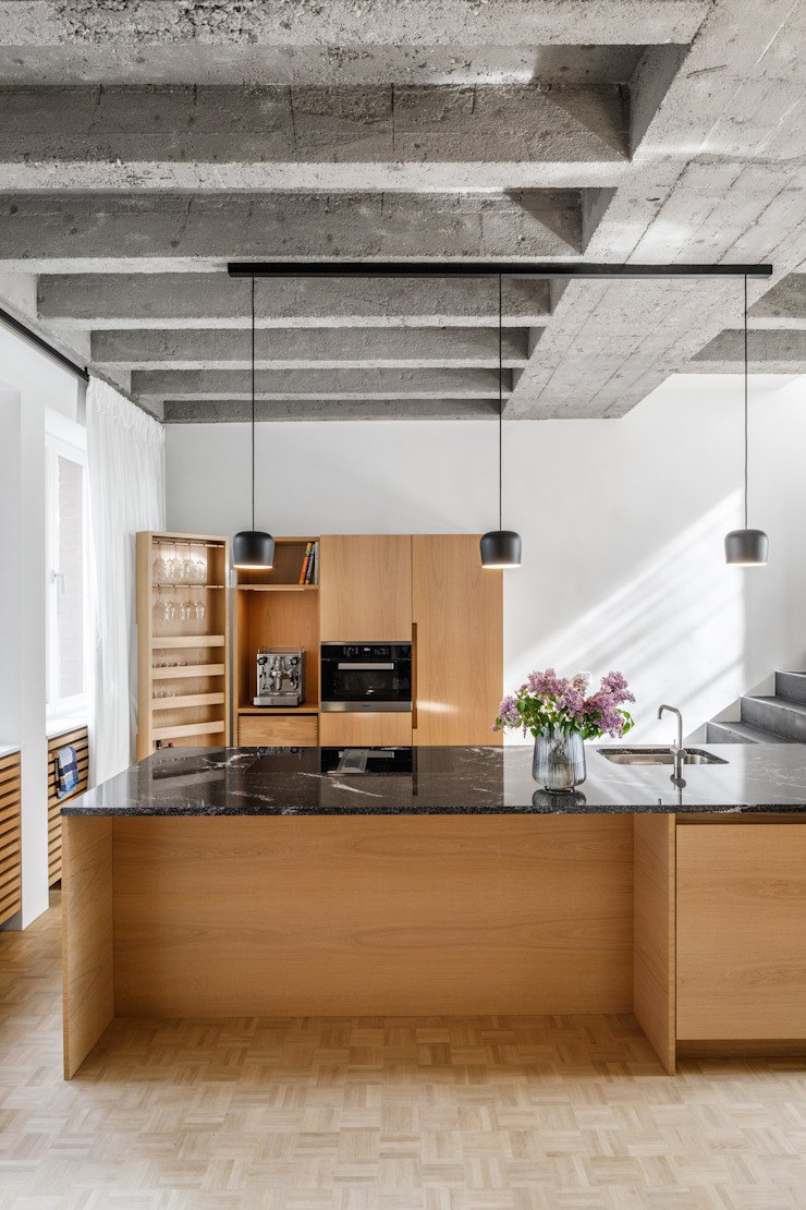 bởi Corneille Uedingslohmann Architekten Hiện đại Đá hoa