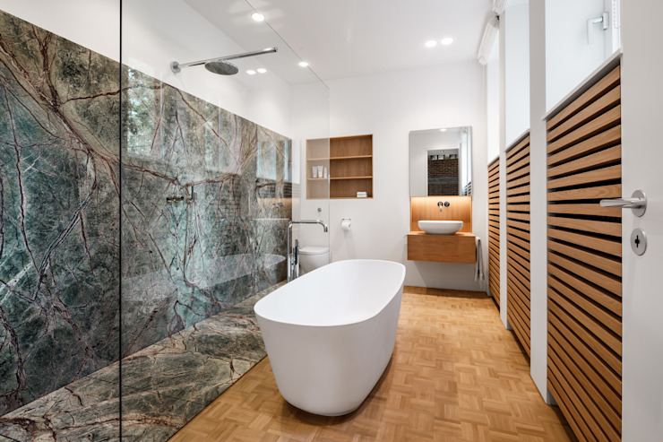 Baños de estilo  por Corneille Uedingslohmann Architekten,