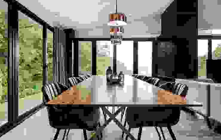 與大自然對話的智能家居 鈊楹室內裝修設計股份有限公司 餐廳
