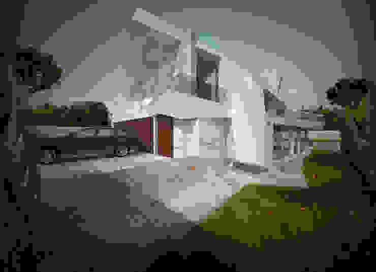 Habitação Unifamiliar Isolada T4 com Piscina - Definied LOOP Office of Feeling Architecture, Lda Habitações multifamiliares Mármore Branco